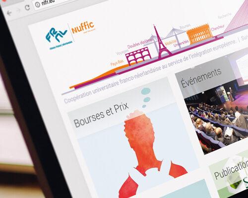 Réseau franco-néerlandais, website